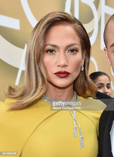73rd ANNUAL GOLDEN GLOBE AWARDS Pictured Actress/recording artist Jennifer Lopez arrives to the 73rd Annual Golden Globe Awards held at the Beverly...