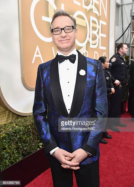 73rd ANNUAL GOLDEN GLOBE AWARDS Pictured Director Paul Feig arrives to the 73rd Annual Golden Globe Awards held at the Beverly Hilton Hotel on...