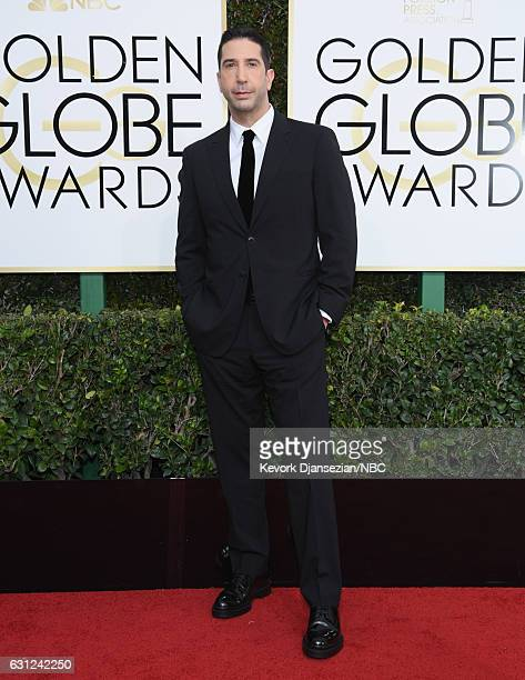 74th ANNUAL GOLDEN GLOBE AWARDS Pictured Actor David Schwimmer arrives to the 74th Annual Golden Globe Awards held at the Beverly Hilton Hotel on...