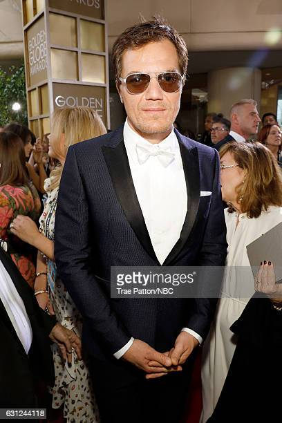 74th ANNUAL GOLDEN GLOBE AWARDS Pictured Actor Michael Shannon arrives to the 74th Annual Golden Globe Awards held at the Beverly Hilton Hotel on...