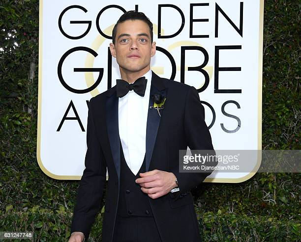 74th ANNUAL GOLDEN GLOBE AWARDS Pictured Actor Rami Malek arrives to the 74th Annual Golden Globe Awards held at the Beverly Hilton Hotel on January...