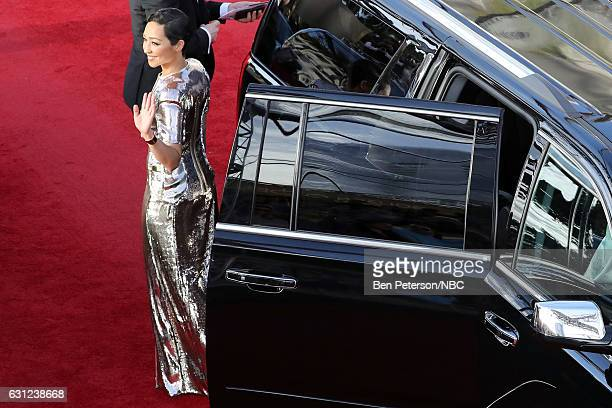 74th ANNUAL GOLDEN GLOBE AWARDS Pictured Actor Ruth Negga arrives to the 74th Annual Golden Globe Awards held at the Beverly Hilton Hotel on January...