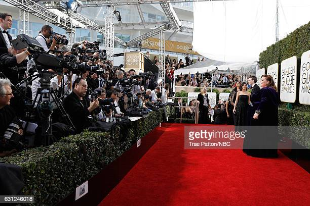 74th ANNUAL GOLDEN GLOBE AWARDS Pictured Actress Chrissy Metz arrives to the 74th Annual Golden Globe Awards held at the Beverly Hilton Hotel on...