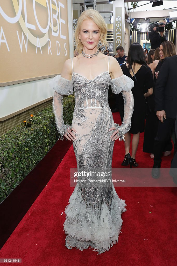 74th ANNUAL GOLDEN GLOBE AWARDS -- Pictured: Actress Nicole Kidman arrives to the 74th Annual Golden Globe Awards held at the Beverly Hilton Hotel on January 8, 2017.