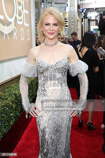 74th ANNUAL GOLDEN GLOBE AWARDS Pictured Actress Nicole Kidman arrives to the 74th Annual Golden Globe Awards held at the Beverly Hilton Hotel on...