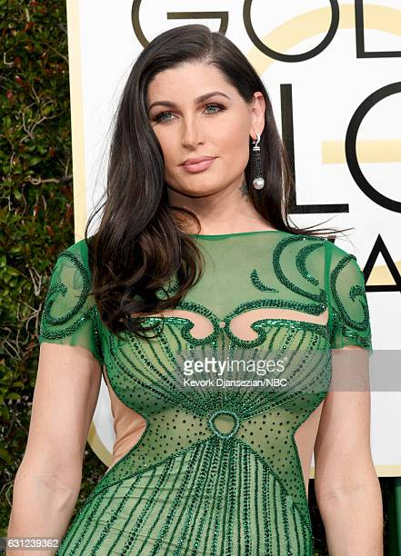 74th ANNUAL GOLDEN GLOBE AWARDS Pictured Actress Trace Lysette arrives to the 74th Annual Golden Globe Awards held at the Beverly Hilton Hotel on...