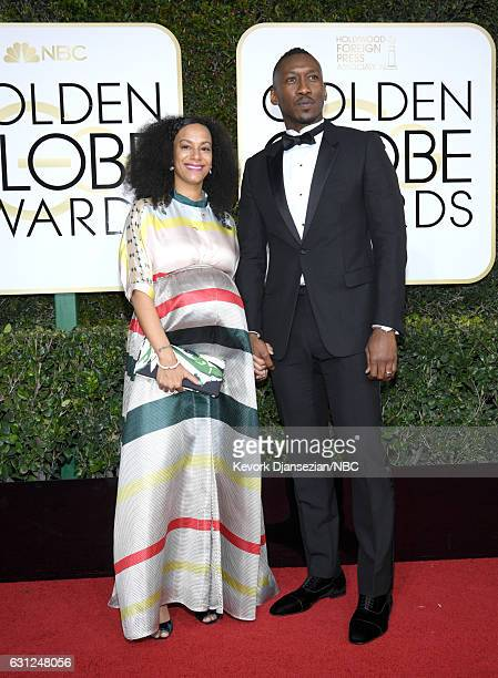 74th ANNUAL GOLDEN GLOBE AWARDS Pictured Artist Amatus SamiKarim and actor Mahershala Ali arrive to the 74th Annual Golden Globe Awards held at the...