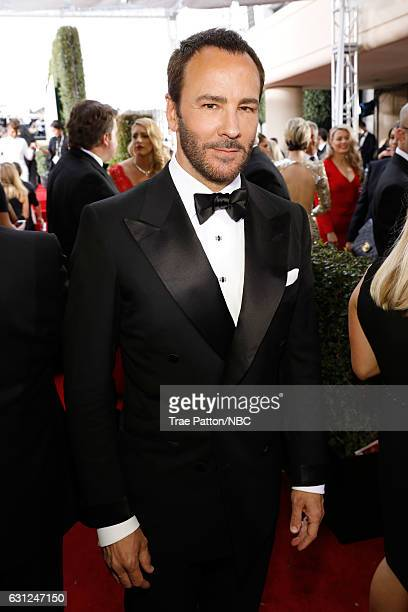 74th ANNUAL GOLDEN GLOBE AWARDS Pictured Director Tom Ford arrives to the 74th Annual Golden Globe Awards held at the Beverly Hilton Hotel on January...