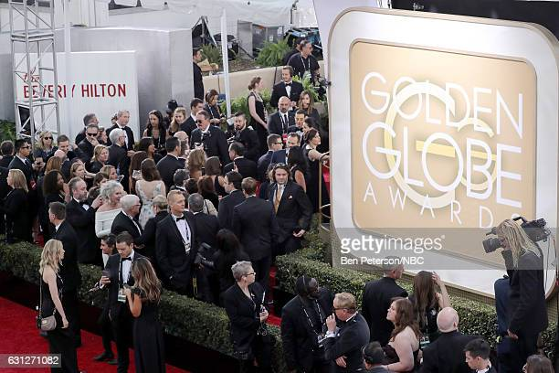 74th ANNUAL GOLDEN GLOBE AWARDS Pictured Guests arrive to the 74th Annual Golden Globe Awards held at the Beverly Hilton Hotel on January 8 2017