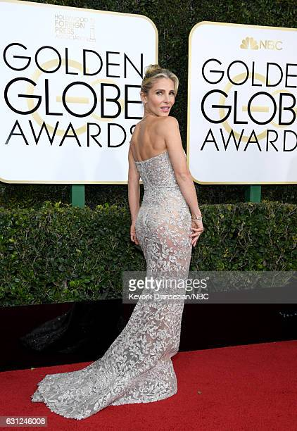 74th ANNUAL GOLDEN GLOBE AWARDS Pictured Model Elsa Pataky arrives to the 74th Annual Golden Globe Awards held at the Beverly Hilton Hotel on January...
