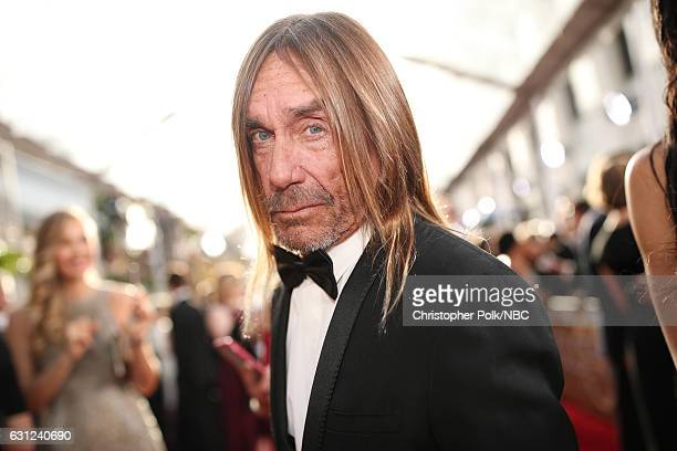 74th ANNUAL GOLDEN GLOBE AWARDS -- Pictured: Musician Iggy Pop arrives to the 74th Annual Golden Globe Awards held at the Beverly Hilton Hotel on...