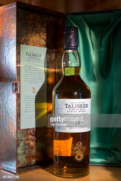 75cl bottle of 35 year old Talisker single malt Scotch Whisky and presentation case available from the shop at the end of the visitors tour at the...