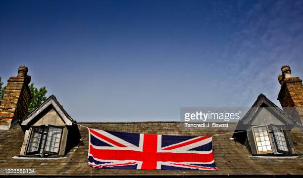 75th anniversary of ve day in chatteris - bavosi stock pictures, royalty-free photos & images