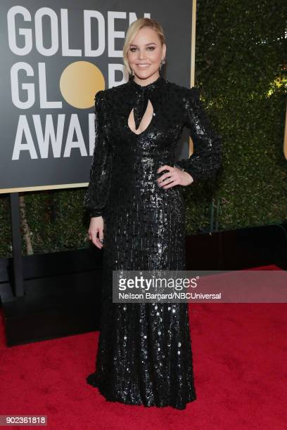 75th ANNUAL GOLDEN GLOBE AWARDS Pictured Actor Abbie Cornish arrives to the 75th Annual Golden Globe Awards held at the Beverly Hilton Hotel on...