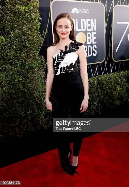 75th ANNUAL GOLDEN GLOBE AWARDS Pictured Actor Alexis Bledel arrives to the 75th Annual Golden Globe Awards held at the Beverly Hilton Hotel on...