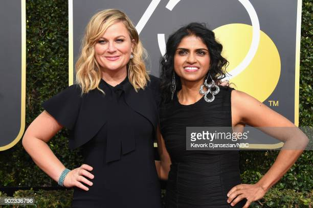75th ANNUAL GOLDEN GLOBE AWARDS Pictured Actor Amy Poehler arrive to the 75th Annual Golden Globe Awards held at the Beverly Hilton Hotel on January...