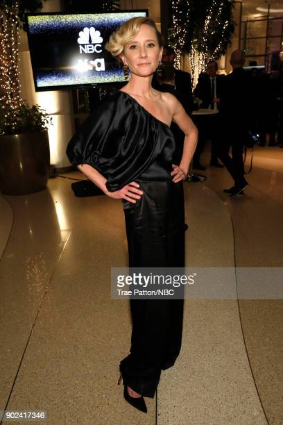75th ANNUAL GOLDEN GLOBE AWARDS Pictured Actor Anne Heche enjoys NBC and USA Network's postGolden Globe Awards party Sunday January 7 in the...