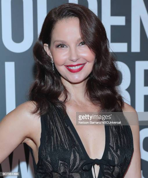75th ANNUAL GOLDEN GLOBE AWARDS Pictured Actor Ashley Judd arrives to the 75th Annual Golden Globe Awards held at the Beverly Hilton Hotel on January...