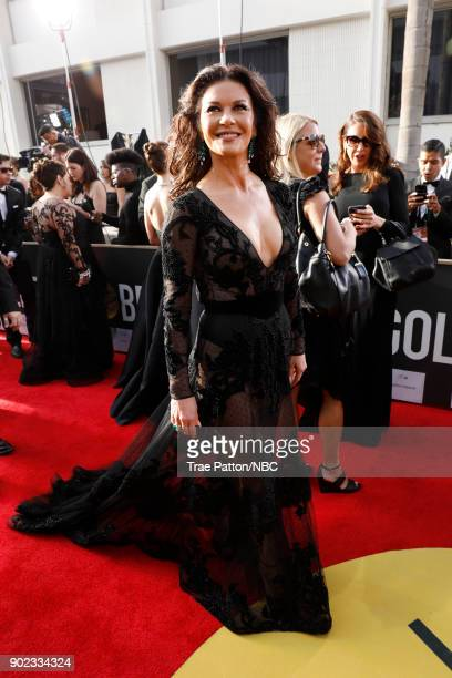 75th ANNUAL GOLDEN GLOBE AWARDS Pictured Actor Catherine ZetaJones arrives to the 75th Annual Golden Globe Awards held at the Beverly Hilton Hotel on...
