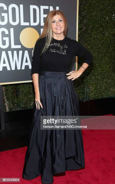 75th ANNUAL GOLDEN GLOBE AWARDS Pictured Actor Connie Britton arrives to the 75th Annual Golden Globe Awards held at the Beverly Hilton Hotel on...