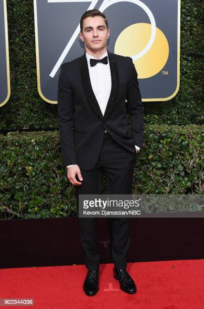 75th ANNUAL GOLDEN GLOBE AWARDS Pictured Actor Dave Franco arrives to the 75th Annual Golden Globe Awards held at the Beverly Hilton Hotel on January...