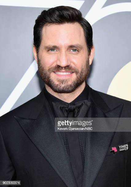 75th ANNUAL GOLDEN GLOBE AWARDS Pictured Actor Edgar Ramirez arrives to the 75th Annual Golden Globe Awards held at the Beverly Hilton Hotel on...