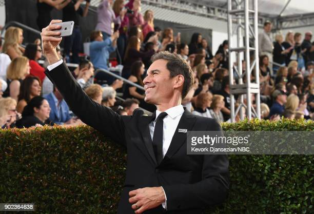 75th ANNUAL GOLDEN GLOBE AWARDS Pictured Actor Eric McCormack arrives to the 75th Annual Golden Globe Awards held at the Beverly Hilton Hotel on...