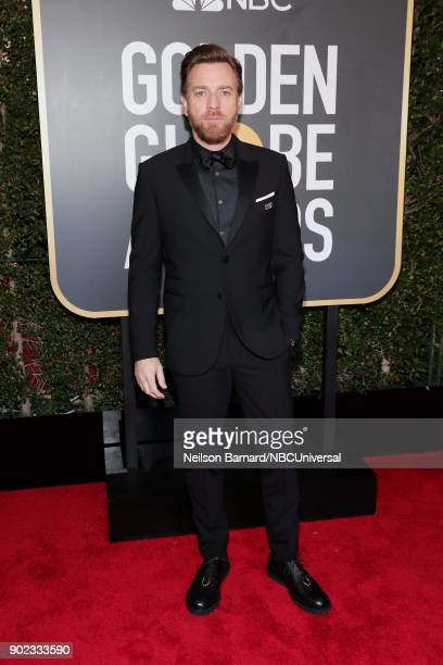 75th ANNUAL GOLDEN GLOBE AWARDS Pictured Actor Ewan McGregor arrives to the 75th Annual Golden Globe Awards held at the Beverly Hilton Hotel on...