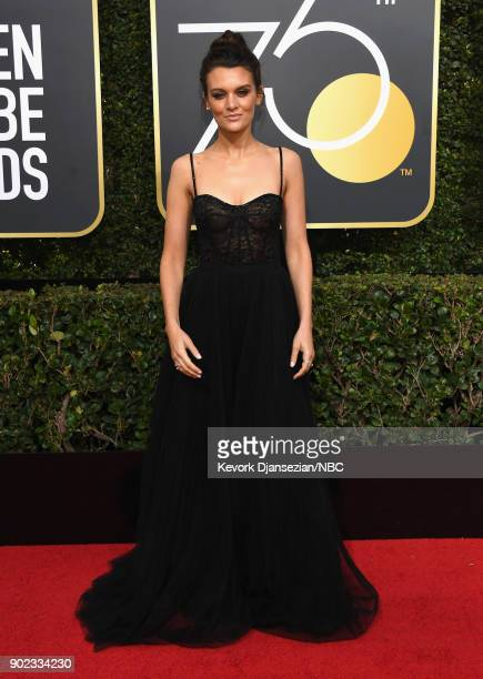 75th ANNUAL GOLDEN GLOBE AWARDS Pictured Actor Frankie Shaw arrives to the 75th Annual Golden Globe Awards held at the Beverly Hilton Hotel on...