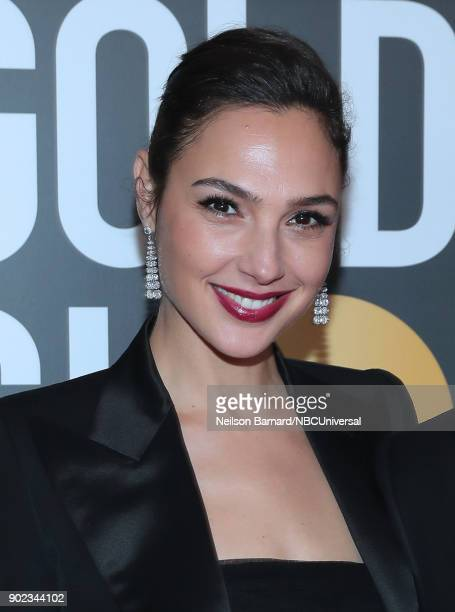75th ANNUAL GOLDEN GLOBE AWARDS Pictured Actor Gal Gadot arrives to the 75th Annual Golden Globe Awards held at the Beverly Hilton Hotel on January 7...