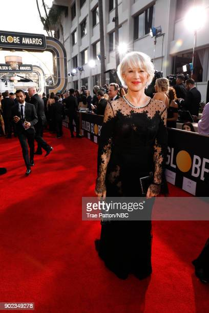 75th ANNUAL GOLDEN GLOBE AWARDS Pictured Actor Helen Mirren arrives to the 75th Annual Golden Globe Awards held at the Beverly Hilton Hotel on...