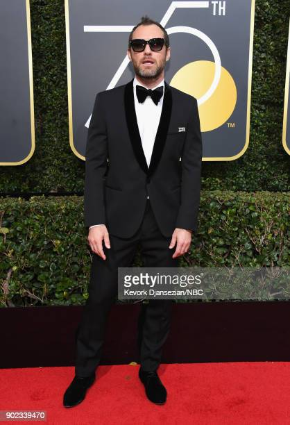 75th ANNUAL GOLDEN GLOBE AWARDS Pictured Actor Jude Law arrives to the 75th Annual Golden Globe Awards held at the Beverly Hilton Hotel on January 7...