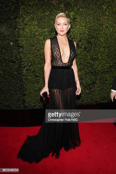 75th ANNUAL GOLDEN GLOBE AWARDS -- Pictured: Actor Kate Hudson arrives to the 75th Annual Golden Globe Awards held at the Beverly Hilton Hotel on...
