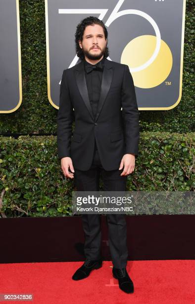 75th ANNUAL GOLDEN GLOBE AWARDS Pictured Actor Kit Harington arrives to the 75th Annual Golden Globe Awards held at the Beverly Hilton Hotel on...