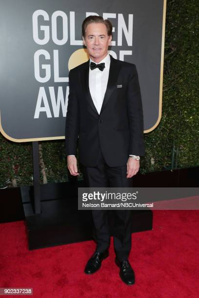 75th ANNUAL GOLDEN GLOBE AWARDS Pictured Actor Kyle MacLachlan arrives to the 75th Annual Golden Globe Awards held at the Beverly Hilton Hotel on...