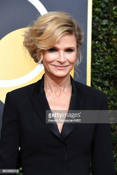75th ANNUAL GOLDEN GLOBE AWARDS Pictured Actor Kyra Sedgwick arrives to the 75th Annual Golden Globe Awards held at the Beverly Hilton Hotel on...