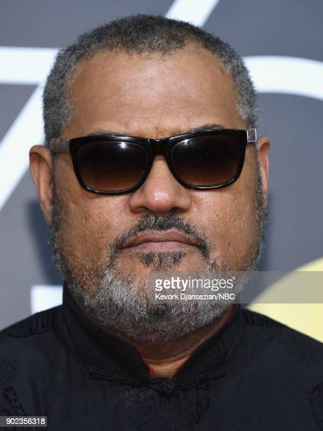 75th ANNUAL GOLDEN GLOBE AWARDS Pictured Actor Lawrence Fishburne arrives to the 75th Annual Golden Globe Awards held at the Beverly Hilton Hotel on...