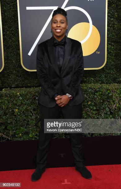75th ANNUAL GOLDEN GLOBE AWARDS Pictured Actor Lena Waithe arrives to the 75th Annual Golden Globe Awards held at the Beverly Hilton Hotel on January...