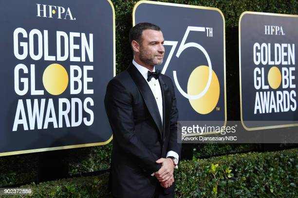 75th ANNUAL GOLDEN GLOBE AWARDS Pictured Actor Liev Schreiber arrives to the 75th Annual Golden Globe Awards held at the Beverly Hilton Hotel on...