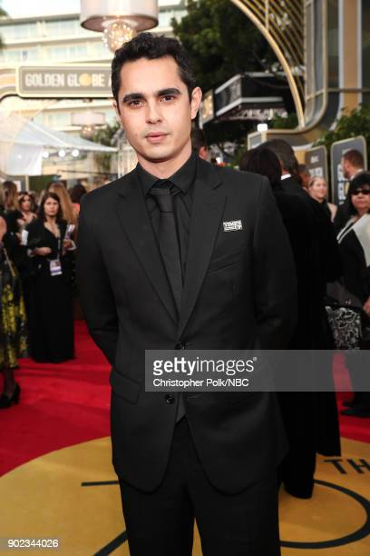 75th ANNUAL GOLDEN GLOBE AWARDS Pictured Actor Max Minghella arrives to the 75th Annual Golden Globe Awards held at the Beverly Hilton Hotel on...
