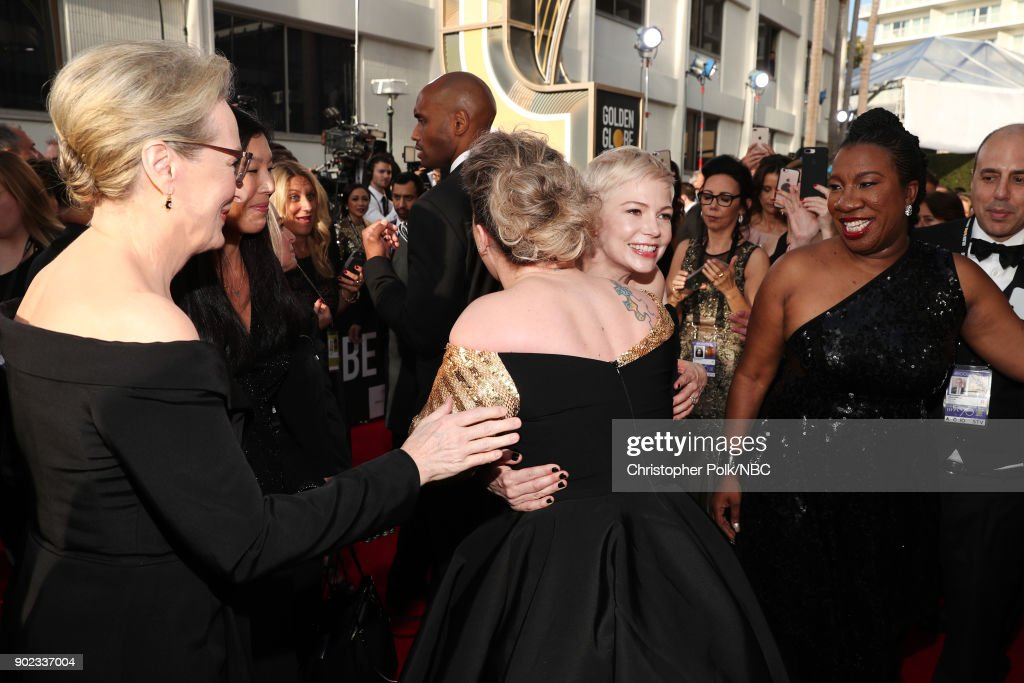 """NBC's """"75th Annual Golden Globe Awards"""" - Red Carpet Arrivals : News Photo"""