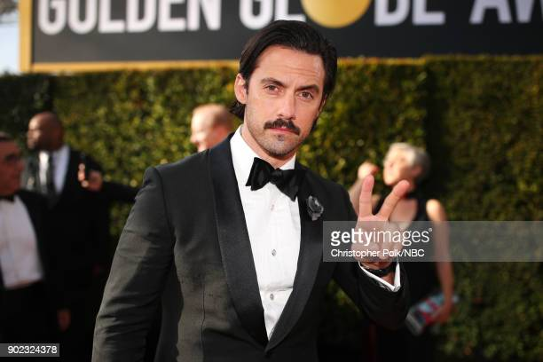 75th ANNUAL GOLDEN GLOBE AWARDS Pictured Actor Milo Ventimiglia arrives to the 75th Annual Golden Globe Awards held at the Beverly Hilton Hotel on...