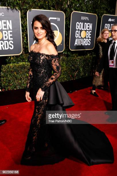 75th ANNUAL GOLDEN GLOBE AWARDS Pictured Actor Penelope Cruz arrives to the 75th Annual Golden Globe Awards held at the Beverly Hilton Hotel on...