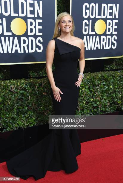 75th ANNUAL GOLDEN GLOBE AWARDS Pictured Actor Reese Witherspoon arrives to the 75th Annual Golden Globe Awards held at the Beverly Hilton Hotel on...