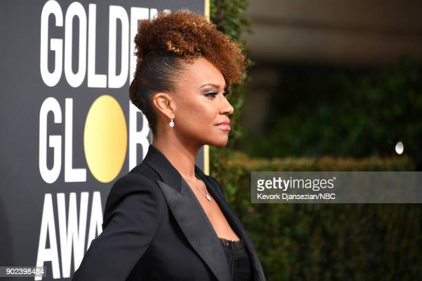 75th ANNUAL GOLDEN GLOBE AWARDS Pictured Actor Ryan Michelle Bathe arrives to the 75th Annual Golden Globe Awards held at the Beverly Hilton Hotel on...