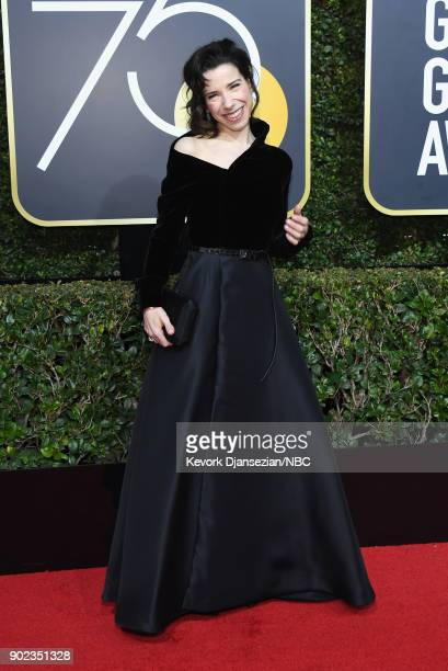 75th ANNUAL GOLDEN GLOBE AWARDS Pictured Actor Sally Hawkins arrives to the 75th Annual Golden Globe Awards held at the Beverly Hilton Hotel on...