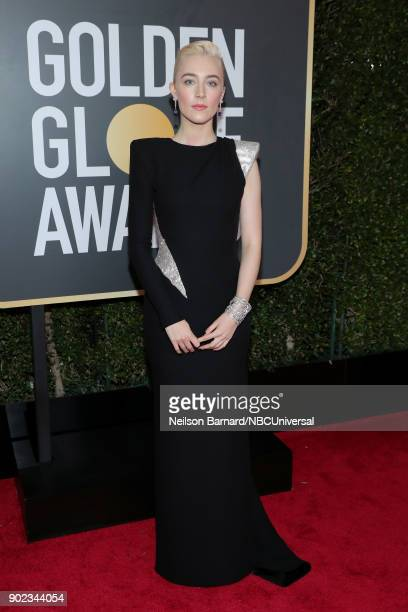 75th ANNUAL GOLDEN GLOBE AWARDS Pictured Actor Saoirse Ronan arrives to the 75th Annual Golden Globe Awards held at the Beverly Hilton Hotel on...