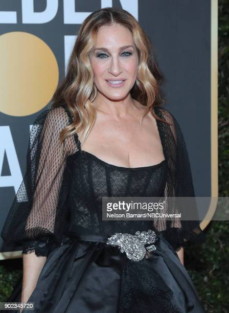 75th ANNUAL GOLDEN GLOBE AWARDS Pictured Actor Sarah Jessica Parker arrives to the 75th Annual Golden Globe Awards held at the Beverly Hilton Hotel...