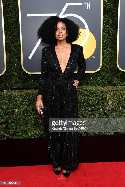 75th ANNUAL GOLDEN GLOBE AWARDS Pictured Actor Susan Kelechi Watson arrives to the 75th Annual Golden Globe Awards held at the Beverly Hilton Hotel...