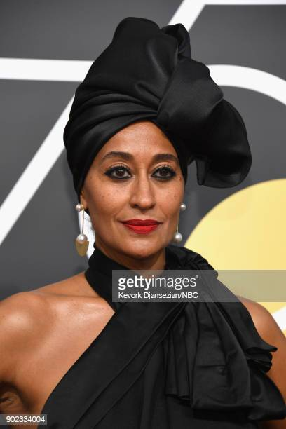 75th ANNUAL GOLDEN GLOBE AWARDS Pictured Actor Tracee Ellis Ross arrives to the 75th Annual Golden Globe Awards held at the Beverly Hilton Hotel on...
